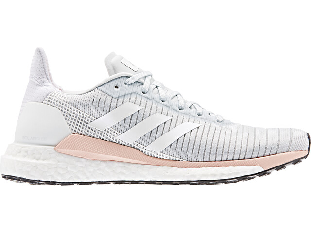 adidas Solar Glide 19 Zapatillas Corte Bajo Mujer, blue tint/footwear white/glossy pink